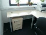 Офисный стол с мобильной тумбой